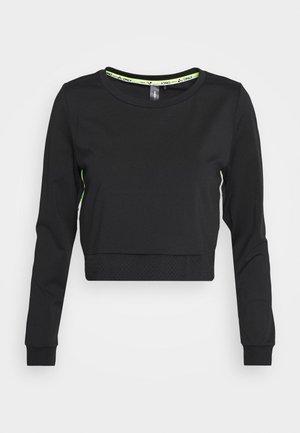 ONPADOR SHORT PETITE - Camiseta de manga larga - black