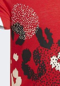adidas Performance - Print T-shirt - red - 3