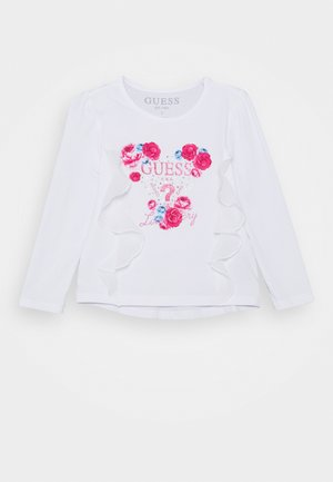 TODDLER STRETCH - Top s dlouhým rukávem - true white