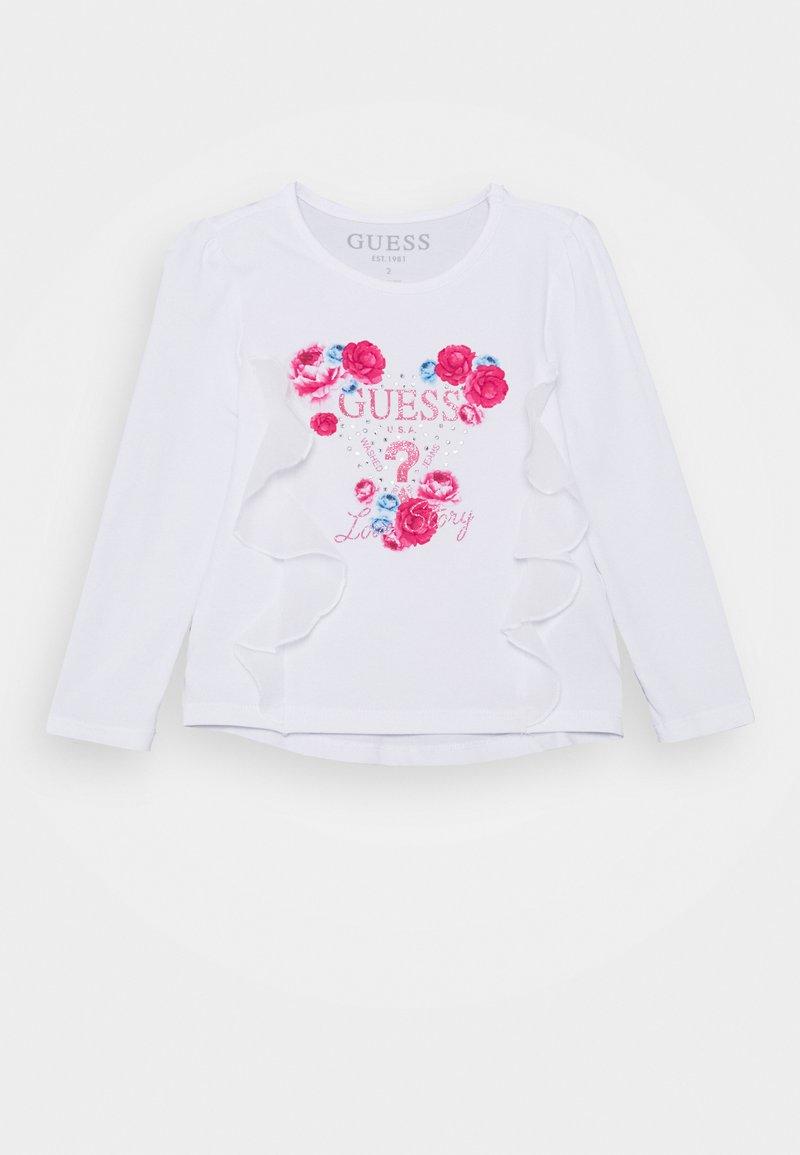 Guess - TODDLER STRETCH - Bluzka z długim rękawem - true white