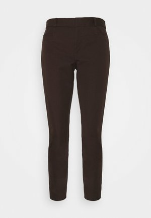 MODERN SLOAN SOLIDS - Trousers - dark mahogany