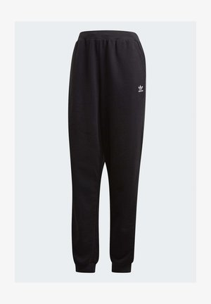 TREFOIL ESSENTIALS CUFFED JOGGERS - Tracksuit bottoms - black