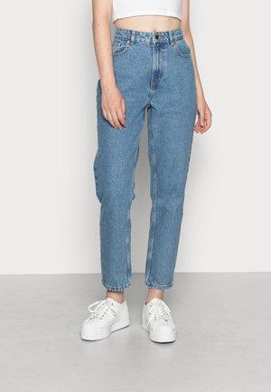 ONLJUDITH LIFE  - Straight leg jeans - medium blue denim