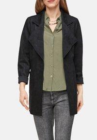 QS by s.Oliver - Short coat - black - 3