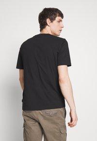 Calvin Klein - SHADOW LOGO  - Printtipaita - black - 2