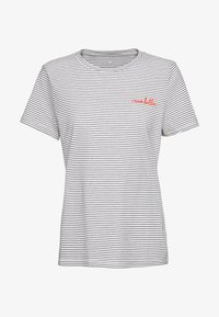 TOM TAILOR - Print T-shirt - offwhite - 0