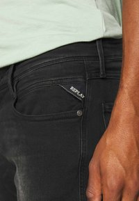 Replay - ANBASS - Slim fit jeans - black used - 4