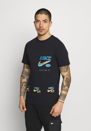 TEE MULTIBRAND  - Print T-shirt - black