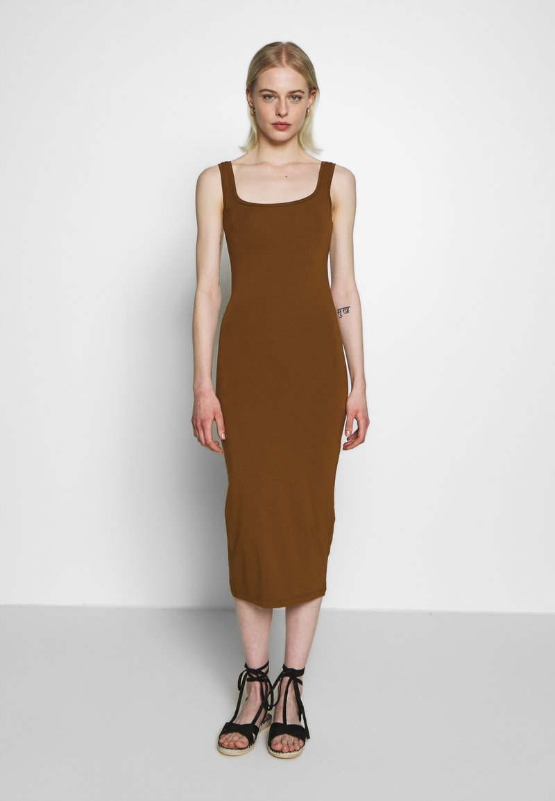 Samsøe Samsøe - SUELLA LONG DRESS  - Jerseykjole - monks robe