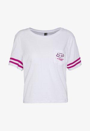 RALEIGH  - Print T-shirt - white
