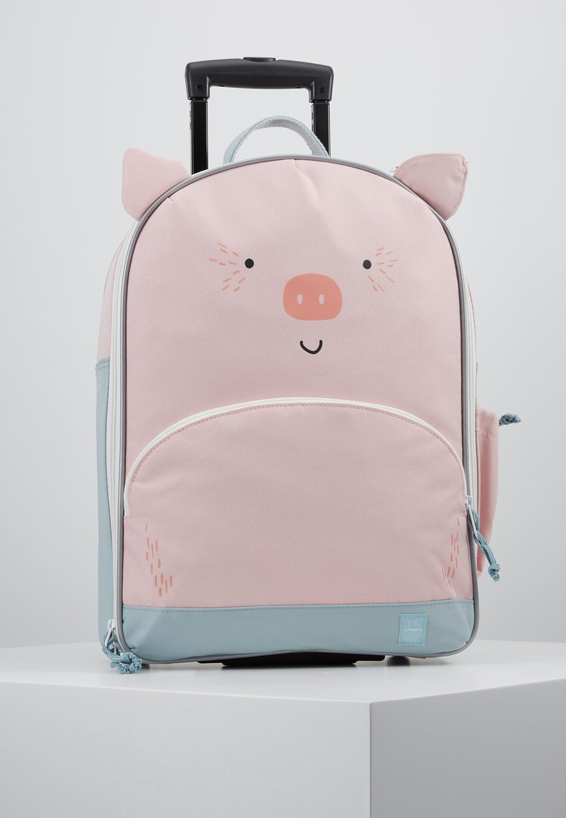 Lässig - ABOUT FRIENDS BO PIG - Wheeled suitcase - pink