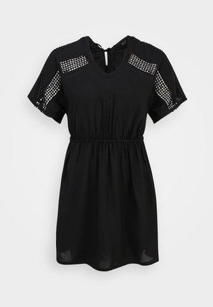 DRESS CROCHET - Day dress - schwarz