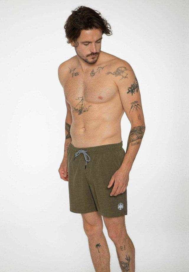 DAVEY  - Shorts da mare - camo green