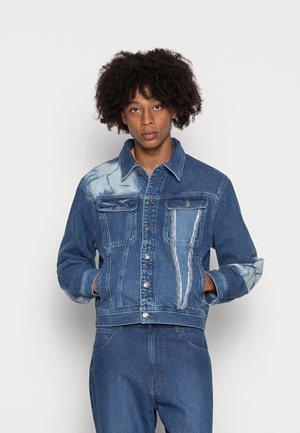 SPIRAL JACKET - Denim jacket - blue