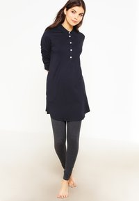 Marc O'Polo - WITH COLLAR - Pyjama top - black - 1