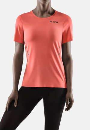 RUN - Print T-shirt - coral