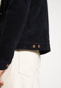 Wrangler - SHERPA - Light jacket - navy - 5