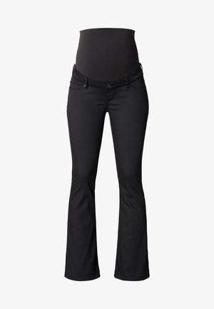 SENNA  - Flared Jeans - black