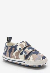 Next - Touch-strap shoes - blue/beige - 1