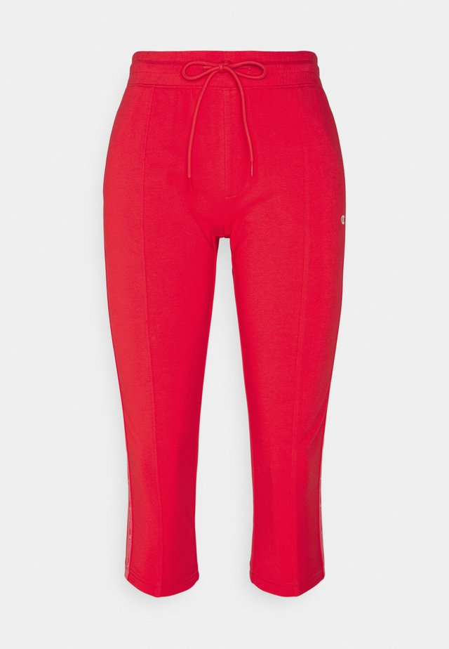 CAPRI PANTS - 3/4 sportovní kalhoty - red