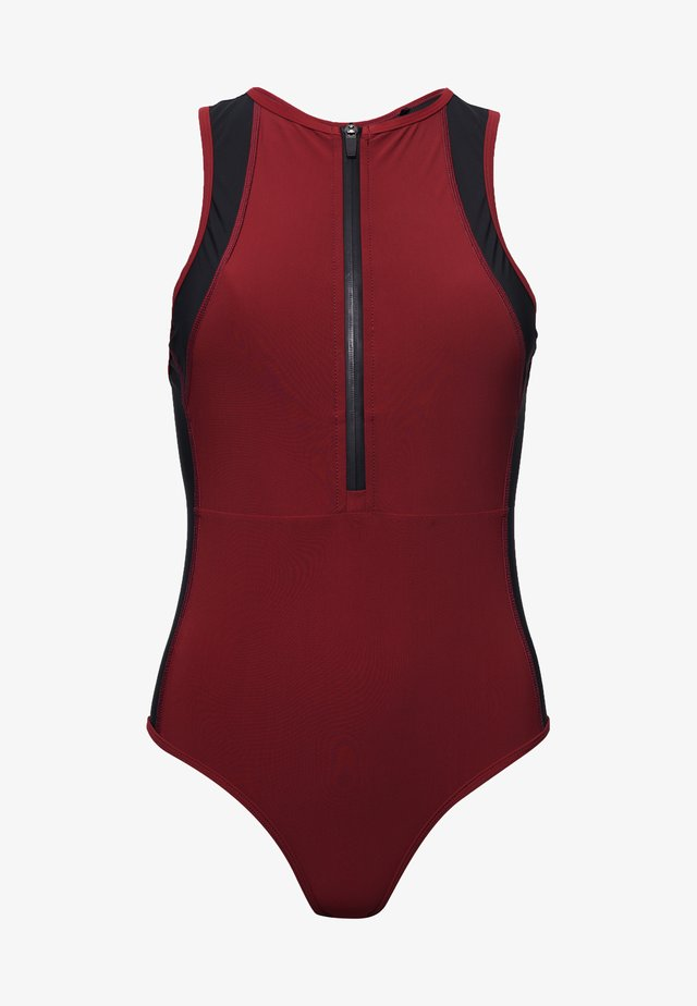 Swimsuit - claret