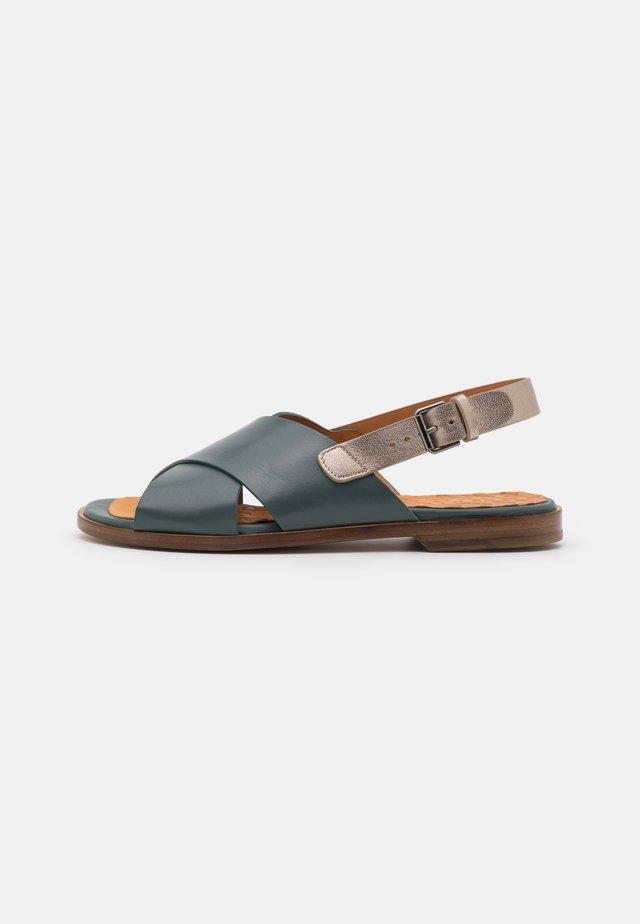 Sandaler - freya petrol/dali iron