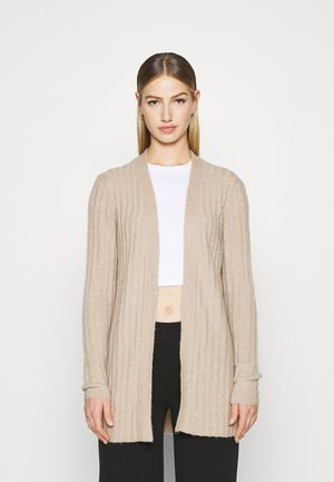 VINIKKI CARDIGAN - Strickjacke - natural melange