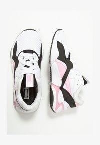 Puma - NOVA 90'S BLOC - Trainers - white/pale pink - 1