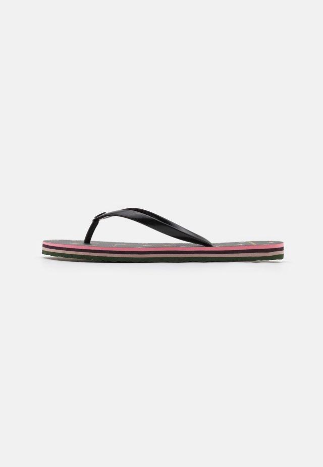 THIN  - Sandály do bazénu - black