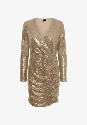 Cocktail dress / Party dress - Beige