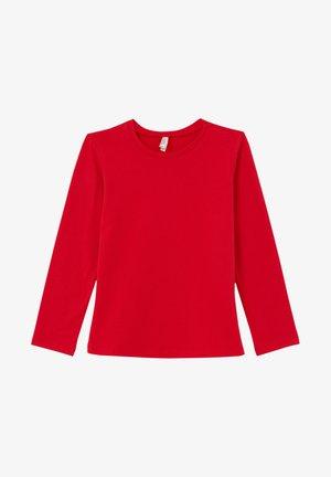 REGULAR FIT - Long sleeved top - red