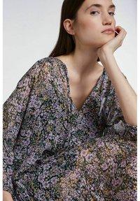SET - Day dress - black violett - 5