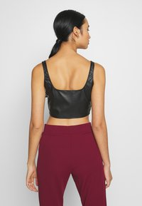 Nly by Nelly - CROP TOP - Camicetta - black - 2