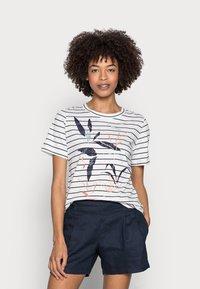 Esprit - T-shirt imprimé - navy - 0