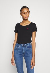 Levi's® - TEE 2 PACK - T-shirt basic - mineral black/mineral black - 1