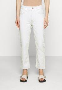 Custommade - YUKI PANTS - Straight leg jeans - whisper white - 0