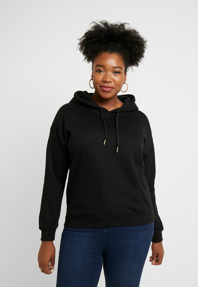LADIES HOODY - Bluza z kapturem - black