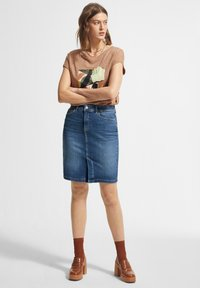 comma casual identity - Pencil skirt - blue - 1