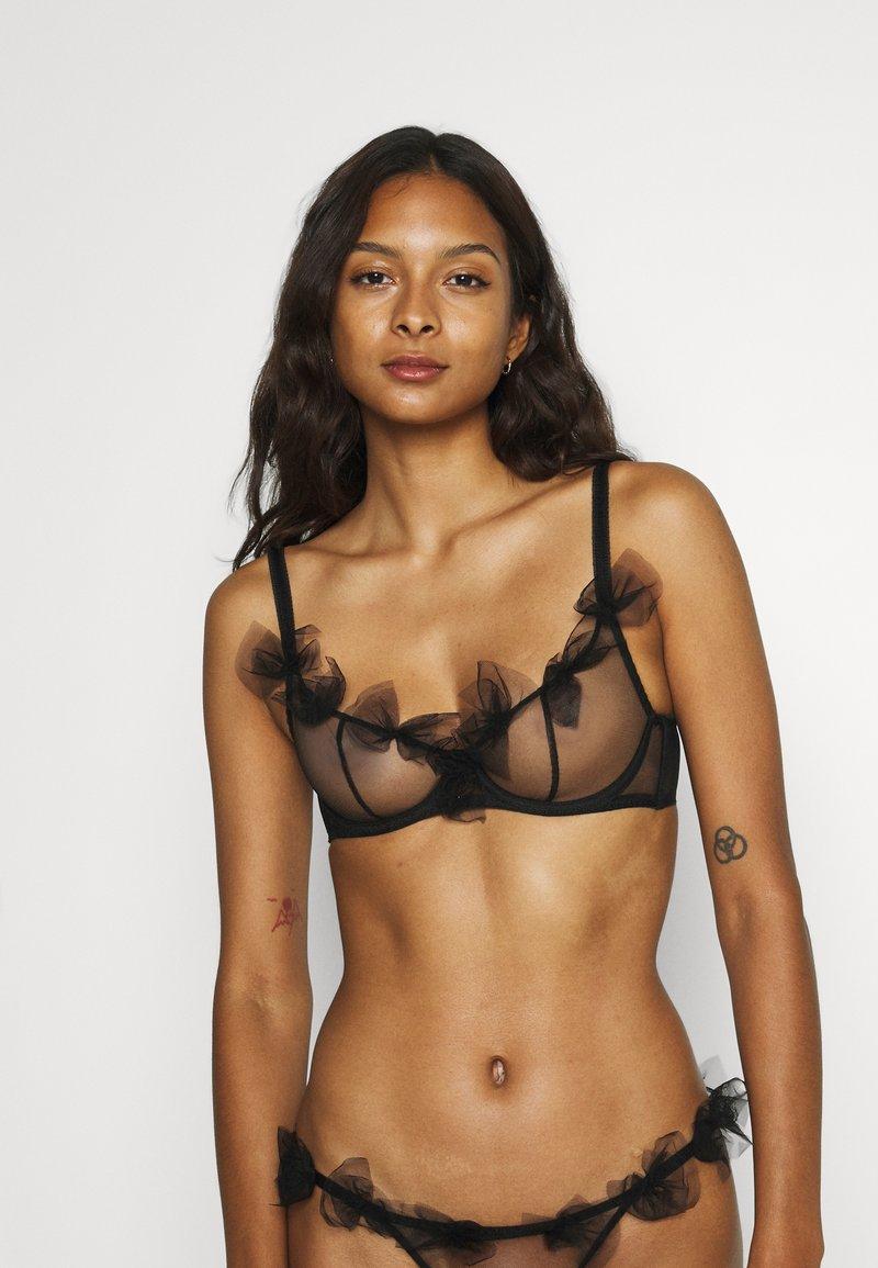Agent Provocateur - FAWN BRA - Underwired bra - black