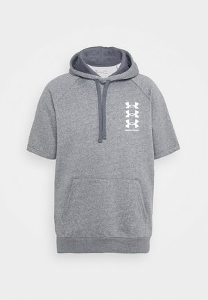 RIVAL MULTILOGO  - Hoodie - pitch gray light heather/onyx white