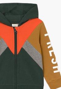 Name it - NMMLAMBERT - Zip-up hoodie - darkest spruce - 2