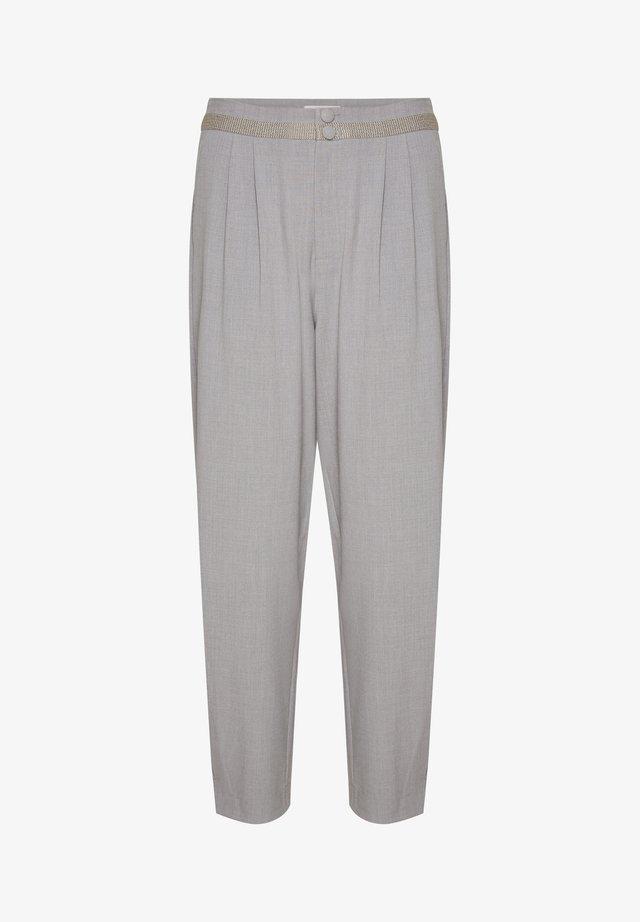CRRYBECA - Pantalon classique - light grey melange