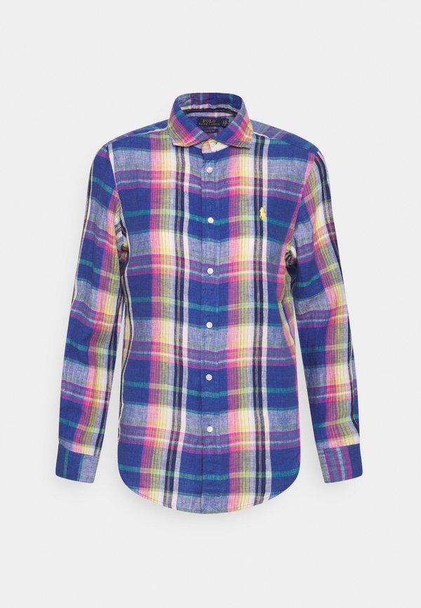 Polo Ralph Lauren PLAID - Koszula - blue/pink/wielokolorowy UZLN
