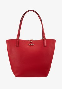 Guess - ALBY TOGGLE TOTE SET - Tote bag - lipstick - 6