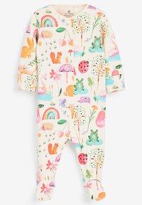 Next - 3 PACK LADYBIRD STRIPE - Sleep suit - pink - 3