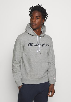 LEGACY HOODED - Kapuzenpullover - dark grey