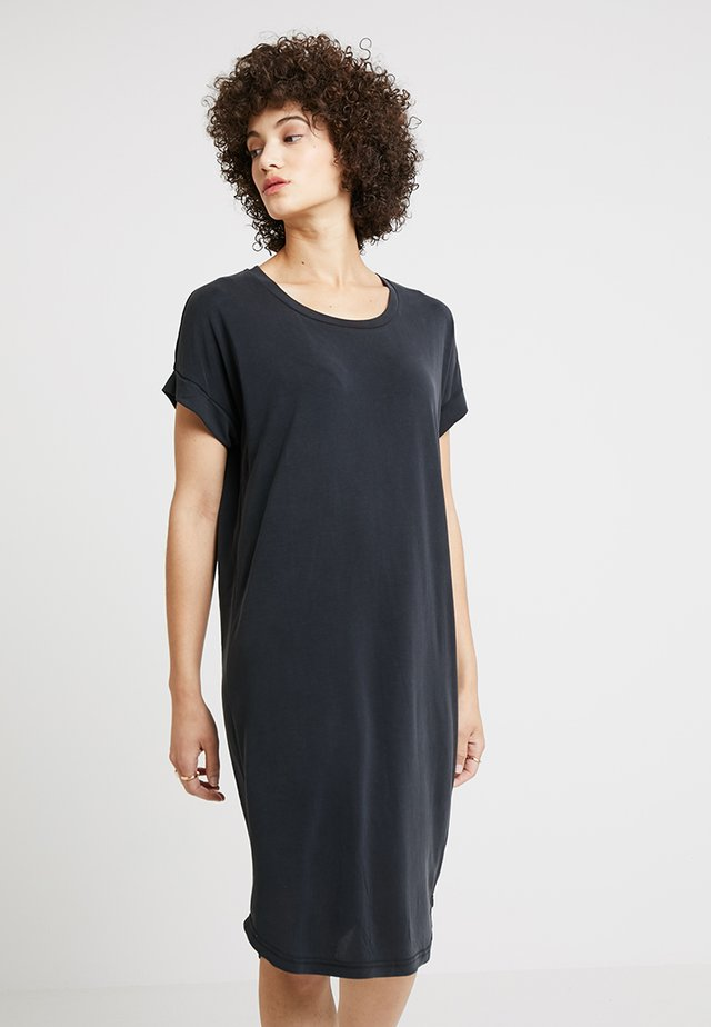 KAJSA  DRESS - Jerseyjurk - black