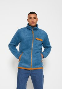The North Face - CRAGMONT JACKET - Fleecová bunda - blue - 0