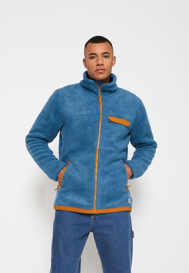 CRAGMONT JACKET - Fleecejakke - blue