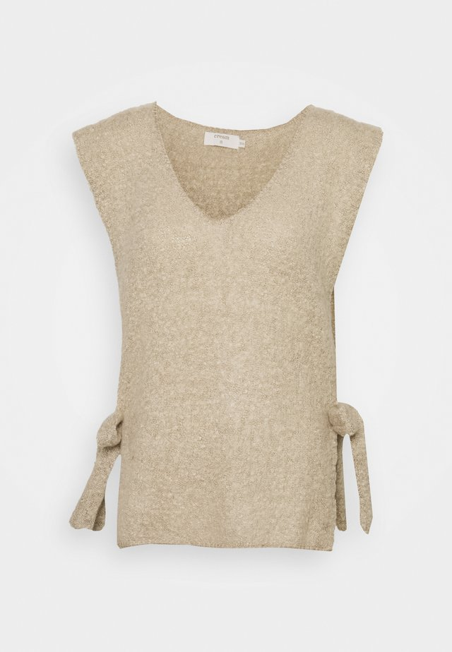 MAGGIE  - T-shirt med print - feather gray